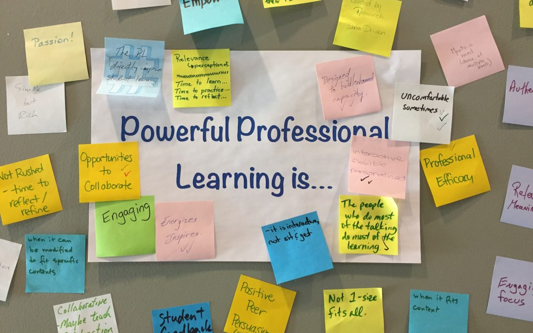 May 3- Designing your School's PL Plan