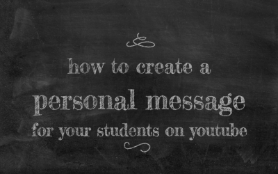 Launch Your Channel with a Personal Message